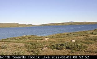 TFS webcam facing Toolik Lake